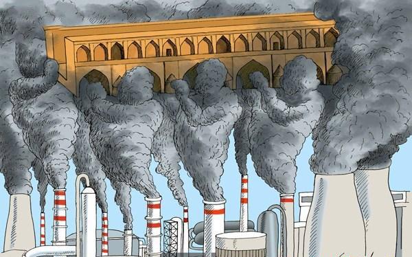 آلاینده های اصفهان