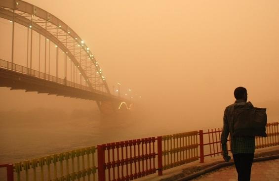 پیش بینی آلودگی هوای اهواز