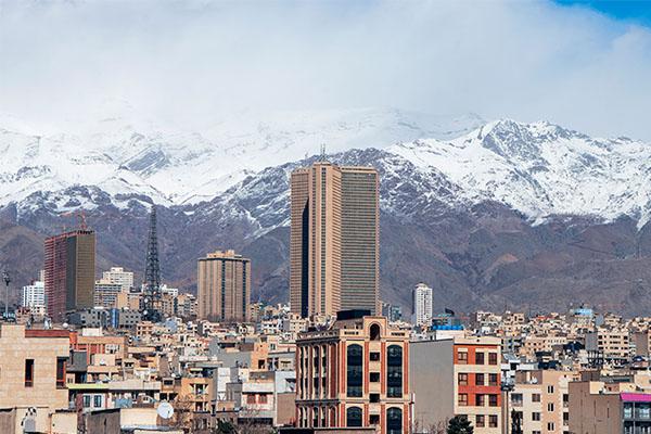 وضعیت آلودگی هوای تهران